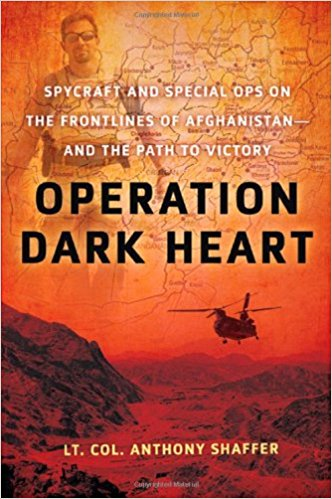 Cover image of the book, Operation Dark Heart, by Anthony Shaffer