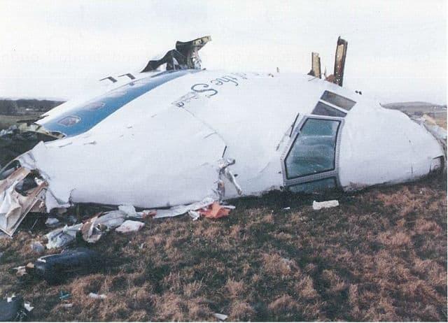 Lockerbie Scotland debris of Pan Am Flight 103