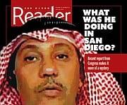 al-Bayoumi on San Diego Reader cover