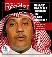 al-Bayoumi on San Diego Reader cover