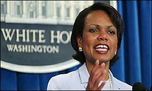 White House photo of Condoleezza Rice