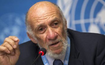 Professor Richard Falk addressing the UN about the gaps and contradictions in the official account of the 9/11 attacks