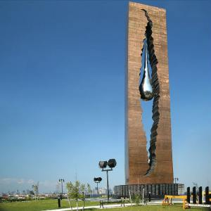 Image of Russian 9/11 Memorial
