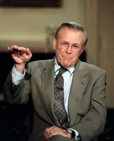 Defense Secretary Rumsfeld on Larry King