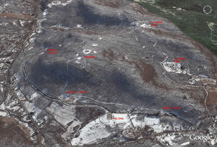 Continuity of government Site R, Raven Rock Complex, shown in aerial photo