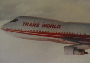 Image of TWA 747