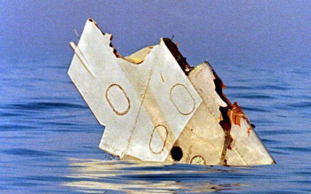 Photo of TWA Flight 800 Crash