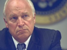 Vice President Cheney in the PEOC, Presidential Emergency Operations Center