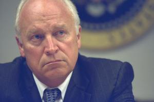 Photo of Vice President Cheney in PEOC on 9/11