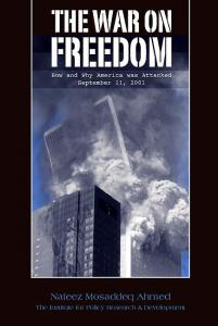 Image of front cover of War on Freedom
