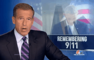 Screen capture of Brian Williams