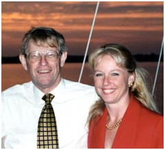 Photo of Barbara and Ted Olson