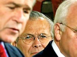 Bush, Cheney and Rumsfeld