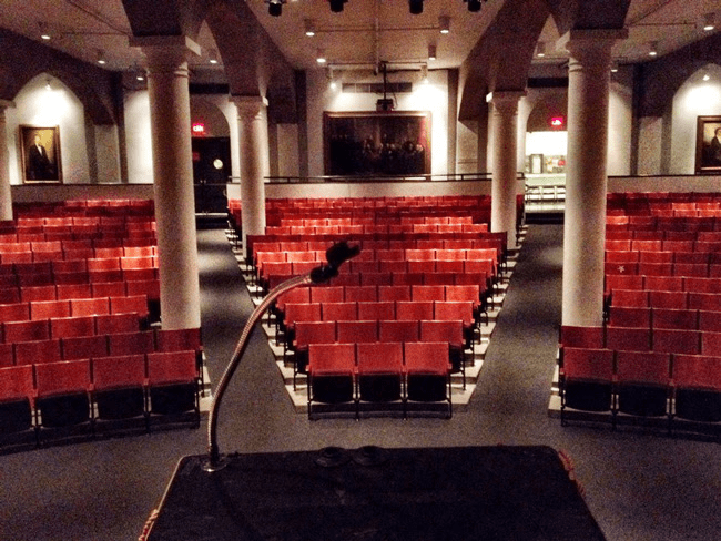 Interior view of Cooper Union