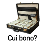 Cui bono: a suitcase filled with war profits
