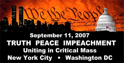 Graphic for event held September 11, 2007 in New York City and Washington DC