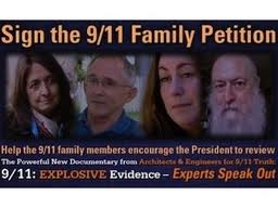 Banner image of 9/11 family member petition
