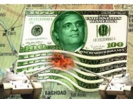 Image of George Tenet on Hundred Dollar Bills