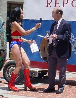 Richard Gage interviewed by Wonder Woman