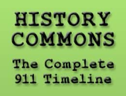 Banner for History Commons 911 Timeline