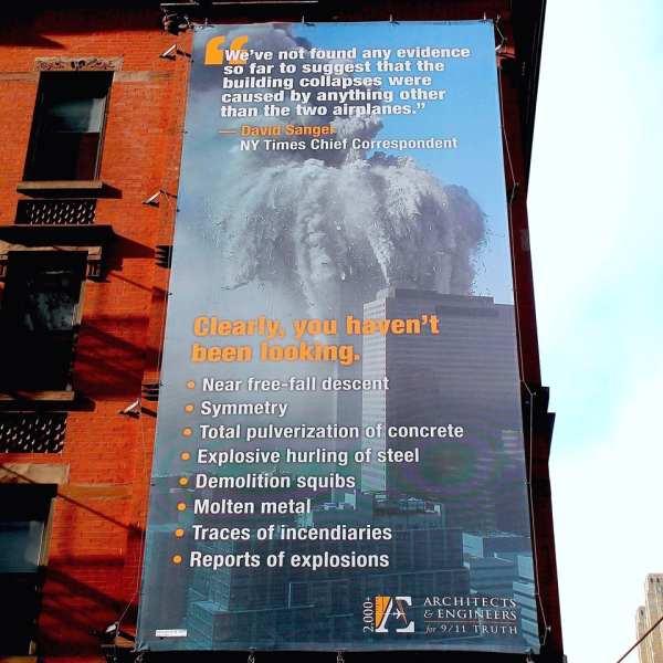 AE 911 Truth New york city campaign
