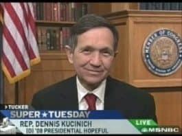 Representative Dennis Kucinich