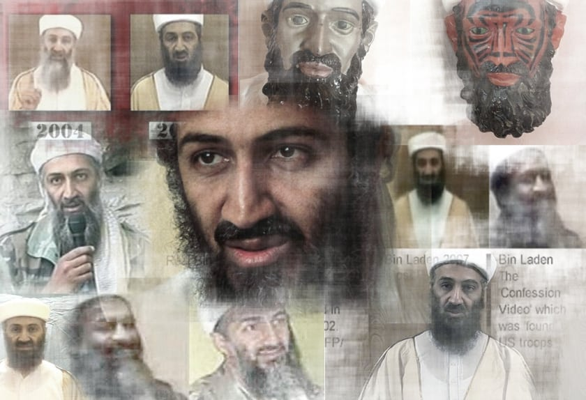 bin laden died: his many faces