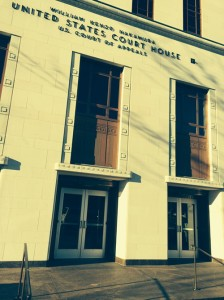 Photo of Seattle's Ninth Circuit Courthouse