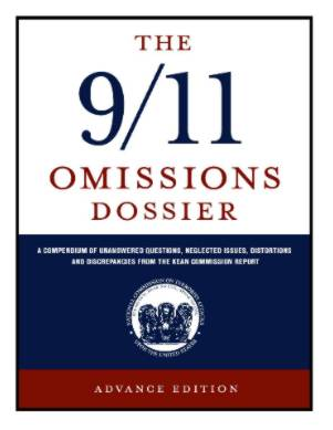 Cover image of the Omissions Dossier on 911