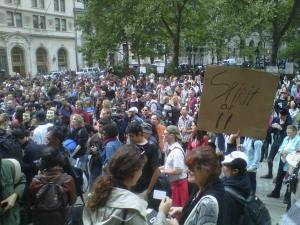 Image of Occupy Wall Street Protesters