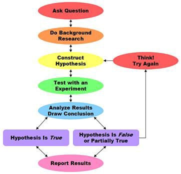 Visualizing the Analysis Flow Using the Scientific Method