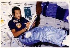Prince Sultan bin Salman in space