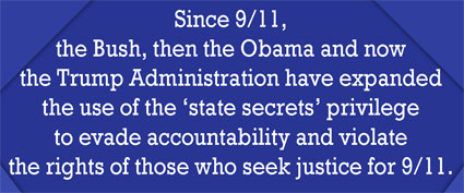 State Secrets Privilege used to evade accountability
