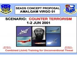 Cover image of Amalgum Virgo Counter Terrorism Scenario June 2001