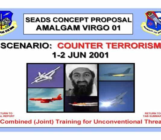 Cover image of Amalgum Virgo Counter Terrorism Scenario June 2001