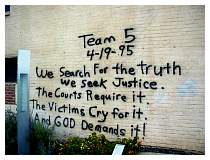 Photo of OKC Wall Writings