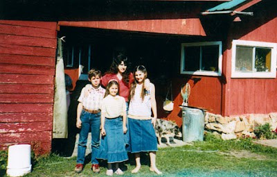 Photo of the Weaver Family