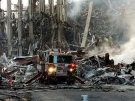 Destruction on 9/11 leads to the destruction of the wars in Afghanistan and Iraq