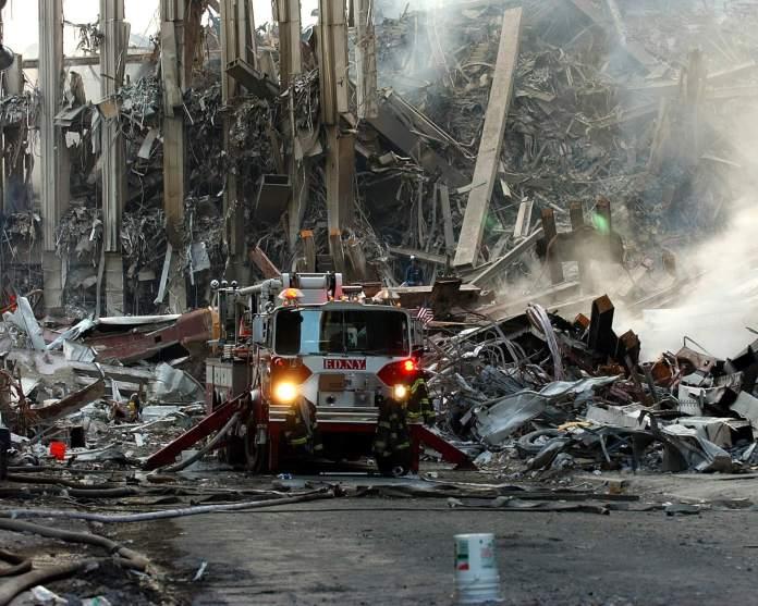World Trade Center aftermath: Ground Zero